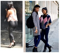 street fashion - leggings