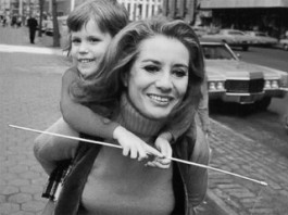 Barbara Walters and daughter