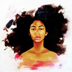 black-woman art