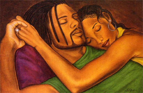 black-couple-love-art